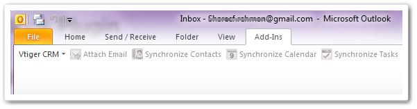 به روز رسانی پلاگین Outlook ویتایگر