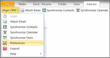 تنظیمات عمومی پلاگین ویتایگر 7 – Outlook